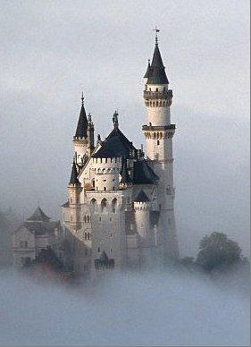 """Схема вышивки  """"Сказочный замок """" ."""
