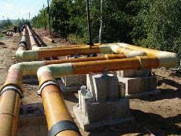 ...расстояния от хлораторной до места ввода в дезинфицируемую среду, такое же количество трубопроводов для...