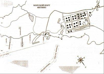 Схема порта Витино